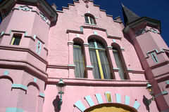 Pink castle Royalty Free Stock Photo