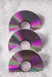 Pink CDs Royalty Free Stock Image