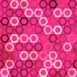 Pink cell grunge seamless Royalty Free Stock Photography