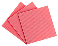 Pink cellulose kitchen  (tissue) Stock Photography