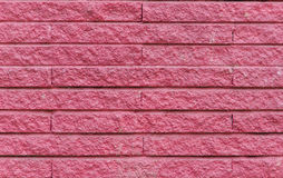 pink cement brick wall, for background Royalty Free Stock Photography