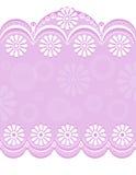 Pink_center decorativo da beira Imagem de Stock