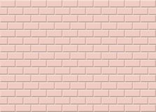 Pink ceramic mosaic tiles texture background. Pink metro tiles. vector illustration