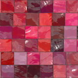 Pink ceramic tiles Royalty Free Stock Photography
