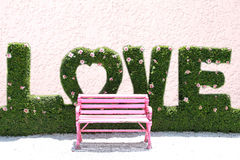 Pink Chair Royalty Free Stock Image