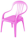 A pink chair furniture Stock Image