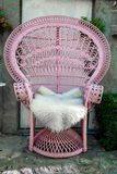 Pink Chair Stock Photos