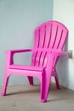 Pink chair Royalty Free Stock Photo