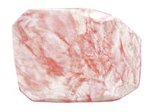 Pink chalcedony crystal Stock Photography
