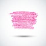 Pink chalk texture Stock Photo