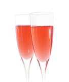 Pink champagne Royalty Free Stock Image