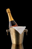 Pink Champagne in a bucket Royalty Free Stock Photo