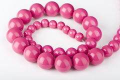 Pink chaplet Stock Image