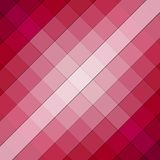 Pink checkered background pattern Royalty Free Stock Image