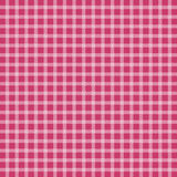 Pink checkered tablecloth. Vector illustration of pink picnic checkered tablecloth Royalty Free Stock Photography