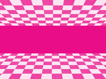 Pink checkered texture Stock Photo