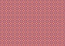 Pink Chequered Squares Pattern. A medley of pink and blue in an artsy pattern created from embroidery threads. Ideal as a background, layer or texture vector illustration