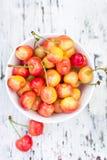 Pink cherries Stock Photography