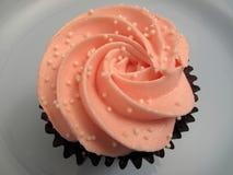 Pink Cherry Blossom Cupcake Stock Photos