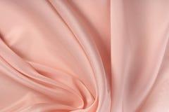 Pink chiffon folds Stock Photography