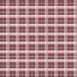 Pink and Chocolate Brown Plaid stock photography