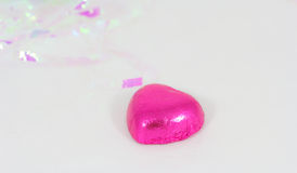 Pink chocolate Stock Image