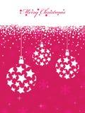 Pink christmas Stock Photos