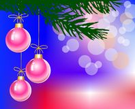Pink christmas Royalty Free Stock Photo