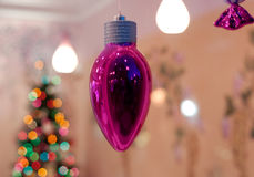 Pink christmas Stock Image