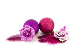 Pink Christmas Royalty Free Stock Photo