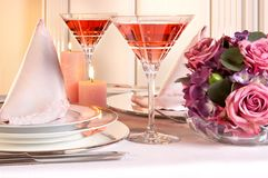 Pink christmas Royalty Free Stock Photos
