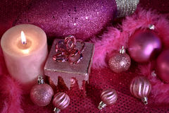 Pink Christmas Royalty Free Stock Images