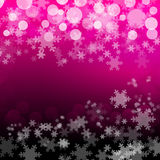 Pink Christmas Background Royalty Free Stock Images
