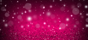 Pink christmas background Stock Photography