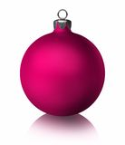 Pink Christmas Bauble Royalty Free Stock Photos