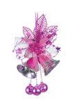 Pink Christmas Bells Stock Photos