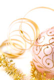 Pink christmas glass ball Stock Photo