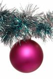 Pink christmas-tree decoration Royalty Free Stock Photo
