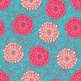 Pink chrysantemums Royalty Free Stock Image