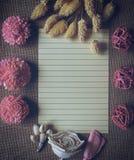 Pink Chrysanthemum Table Decor Stock Photo