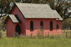 Pink Church Stock Photography