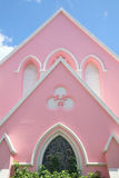 Pink Church Royalty Free Stock Photo