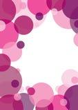 Pink circle background Royalty Free Stock Image