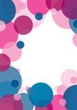 Pink circle background Royalty Free Stock Photos
