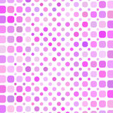 Pink circle mosaic background Stock Photo
