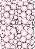 Pink circles background Stock Photo