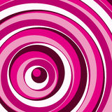 Pink circles background. Vector. Stock Photography