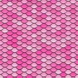 Pink Circular Tiles Pattern royalty free illustration