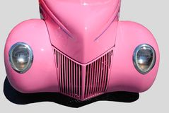 Pink classic car Royalty Free Stock Photography