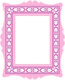 Pink Classic Frame Stock Photos